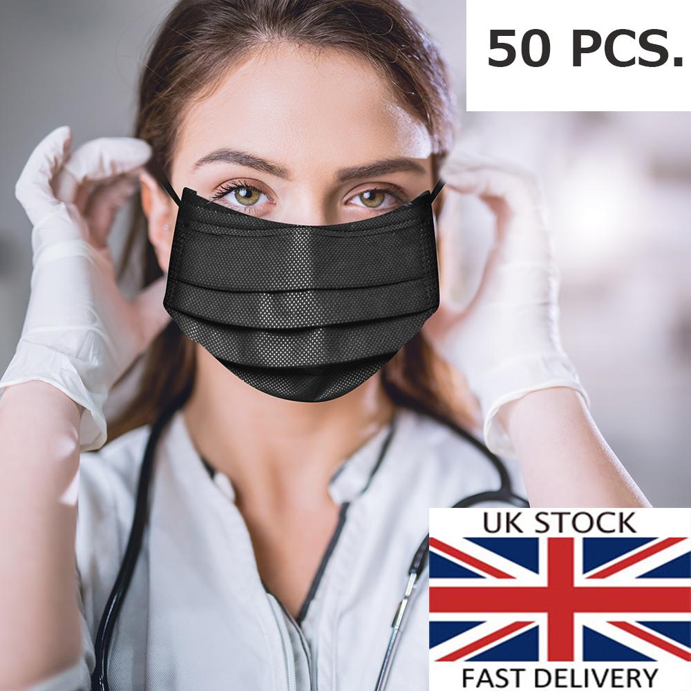 10 x flu surgical face masks